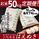 【ふるさと納税】計50kg!お米定期便(お得な5ヵ月コース)...