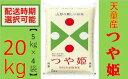 【ふるさと納税】つや姫20kg(5kg×4袋)【山形県 天童
