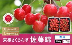 【ふるさと納税】A-0229年産・さくらんぼ「佐藤錦」1kgバラ詰め