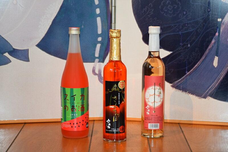 六歌仙 フルーティーな果実酒セットI