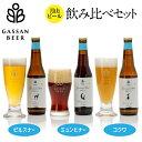 【ふるさと納税】月山ビール 3種類 飲み比べセット