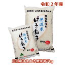 【ふるさと納税】令和2年産特別栽培米はえぬき無洗米7kg(1...