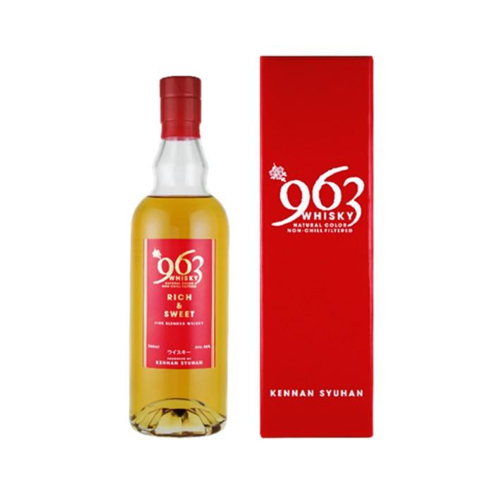 おすすめ9位:ブレンデッドウイスキー 963赤ラベル(700ml)