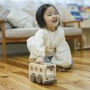 【ふるさと納税】檜のおもちゃ IKONIH オルゴールバス