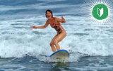 【ふるさと納税】初めての方向け(レンタル込)乗り放題!サーフィンチャレンジコース