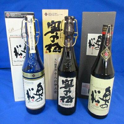 【ふるさと納税】[奥の松酒造三昧]大吟醸雫酒、純...の商品画像