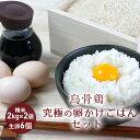 【ふるさと納税】【烏骨鶏】究極の卵かけごはんセット【発送期間9月〜6月】