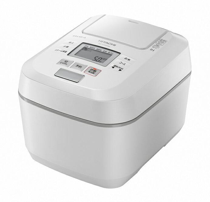 [圧力スチームIH]炊飯器(5.5合用) RZ-V100DM(W)
