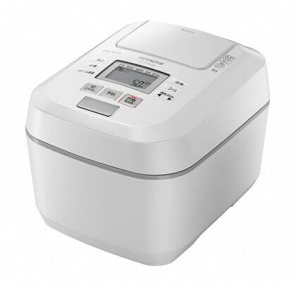 【圧力スチームIH】炊飯器(5.5合用) RZ-V100DM(W)
