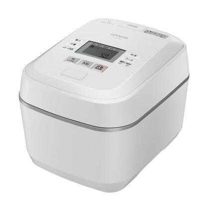 【圧力スチームIH】炊飯器(5.5合用) RZ-V100EM(W)