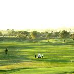 【ふるさと納税】AP02_古河市営ゴルフ場古河ゴルフリンクス平日ゴルフプレー無料券(4名分)食事つき レジャー/利用券