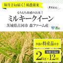 【ふるさと納税】BI04_1年間毎月届く!低農薬米ミルキーク...