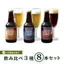 【ふるさと納税】ビール 定期便 14-6【3ヵ月連続お届け】しもつまクラフトビール8本セット