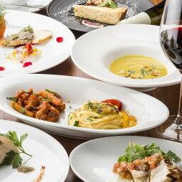 【ふるさと納税】Cafe&Rotisserie LA COCORICOで行方市を味わう【スペシャルディナーコース+シャンパン】ペアチケット1枚