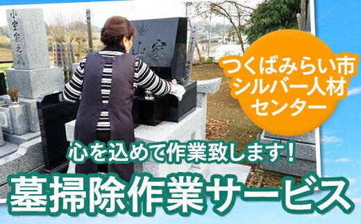 【ふるさと納税】墓掃除作業サービス