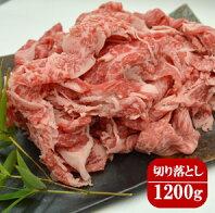 【ふるさと納税】茨城県産牛肉切り落とし1200g |肉 牛肉 国産 冷凍