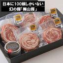 【ふるさと納税】塚原牧場の幻の豚「梅山豚」ロールステーキ6個セット(トリュフ塩付き)