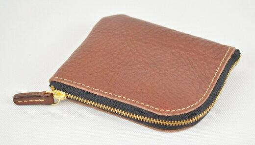 【ふるさと納税】財布 minca/Lzip wallet small 02/CHOCO