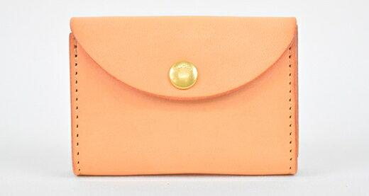 【ふるさと納税】財布 minca/Coin purse 02/TAN