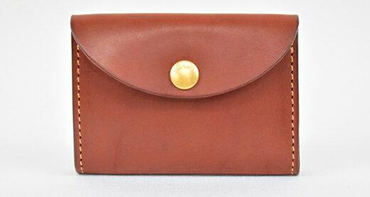【ふるさと納税】財布 minca/Coin purse 02/CHOCO
