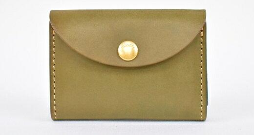 【ふるさと納税】財布 minca/Coin purse 02/DARK GREEN