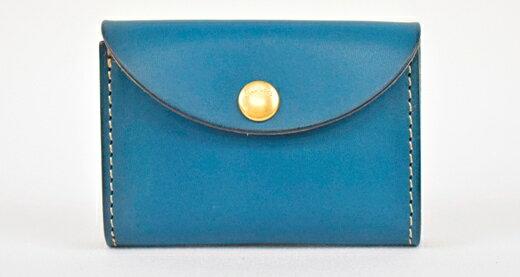 【ふるさと納税】財布 minca/Coin purse 02/BLUE