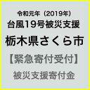 【ふるさと納税】【令和元年 台風19号災害支援緊急寄附受付】栃木県さくら市災害応援寄附金(返礼品はありません)