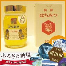 【ふるさと納税】No.004最高級国産天然アカシアはちみつ600g