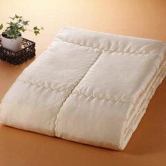 【ふるさと納税】シルク掛け布団(シングル) ※申込による生産品