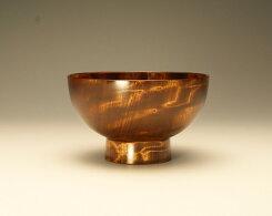 【ふるさと納税】No.092漆器栃杢造お椀(茶)