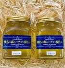 榛名山の麓、榛東村のアカシアの蜂蜜2本セット(たっぷり300g×2)