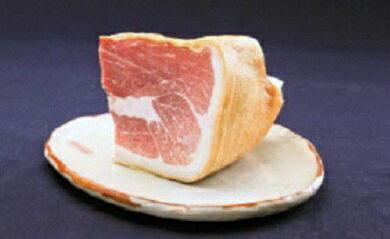 [育風堂精肉店]長期熟成生ハム「はもんみなかみ」ミニ原木・1〜1.2kg