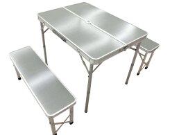 【ふるさと納税】No.054テーブル&ベンチセットメラミン天板