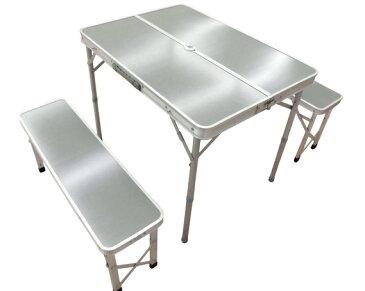 【ふるさと納税】No.054 テーブル&ベンチセット メラミン天板