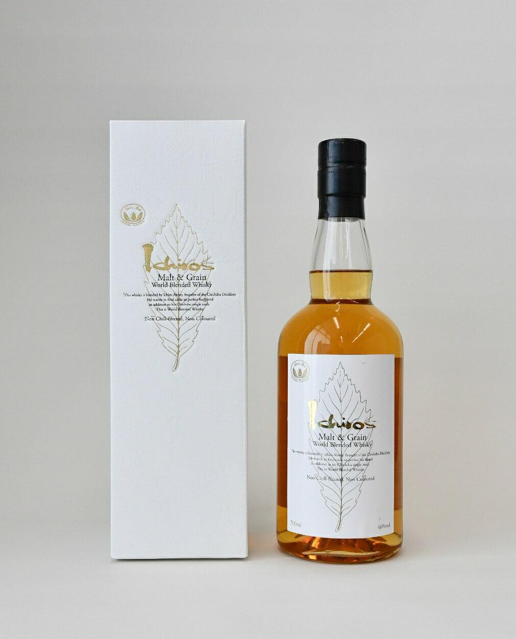 No.236 イチローズモルト&グレーン ホワイトラベル(化粧箱入り) / 国産洋酒ウイスキー