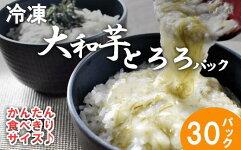 【ふるさと納税】冷凍大和芋とろろパック詰合せ【11218-0322】