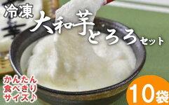 【ふるさと納税】冷凍大和芋とろろセット【11218-0371】