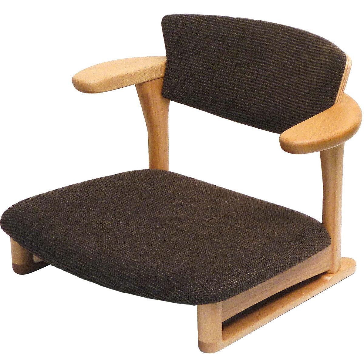 【ふるさと納税】木製 Awaza LD 低座椅子(ナラ オイル仕上、ネイビー、レッド、グレー、ベージュ、ブラウンより1色):埼玉県三芳町