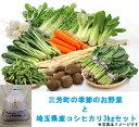 【ふるさと納税】三芳町の季節のお野菜と埼玉県産コシヒカリ3k...