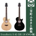 【ふるさと納税】アコースティックギターGrassRootsG-AC-50N(ナイロン弦)NTLS/STBKS