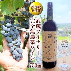 【ふるさと納税】No.039武蔵ワイナリー完全無農薬ワイン小川小公子2017750ml