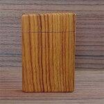 【ふるさと納税】木工職人が作った手作り木の名刺入れ(チーク)【1077076】