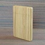 【ふるさと納税】木工職人が作った手作り木の名刺入れ(オーク)【1077077】