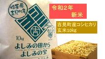 【ふるさと納税】[令和2年新米]埼玉県比企郡吉見町産コシヒカリ【玄米】10kg