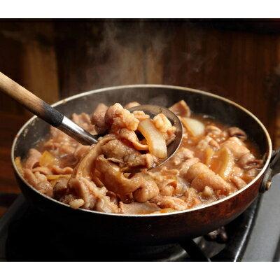 旭市産豚生もつ鍋セット ×6人分・もつ味噌煮込み ×6人分 合計12人分のもつセット
