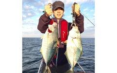 釣り船体験ができます!