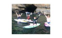 ご家族や仲間でのマリンレジャーに最適!美しい勝浦の海をSUPで快適クルージング体験