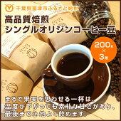 【ふるさと納税】☆高品質焙煎シングルオリジンコーヒー豆200g×3種
