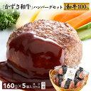 【ふるさと納税】かずさ和牛生ハンバーグセット 160g×5個...