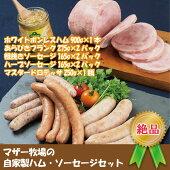 【ふるさと納税】☆マザー牧場自家製ハム・ソーセージセット
